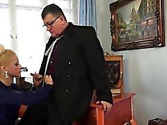 Cereza beso jefe mamada