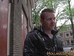 Jizzed prostituta holandês real