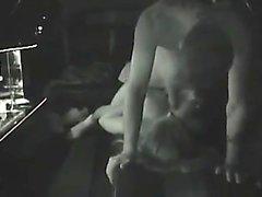 putain Capturé dans une limousine
