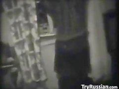 E nero dilettanti bianco in russo Porno