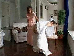 Hochzeitskleides verhauen