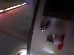 Большая грудь в самолета