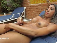 Awesome Shemale Masturbation Compilation Porn Video