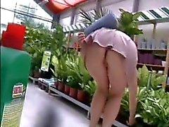 Next shopping upskirt no panty