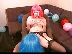 Lesbian Clowns...F70