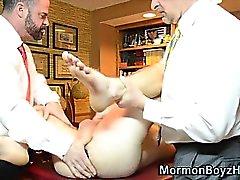 Bir mormon daha yaşlı kıçını ciddiye almadılar