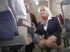 Avion Attendent d'Upskirt