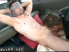 Cumshot auf ledernen Film-Galerien Homosexuell Doing the Greek