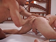 big dick gay anal sex with cumshot clip