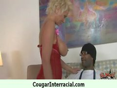 Interracial cougar milf make amazing sex with black monster cock 11