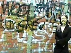 Adolescentes sexy goth los duendecillos parpadeando público