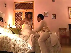 German couple wedding night