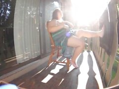 Omituinen Clover Tirkistelijät Balcony Hardcore