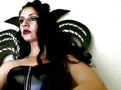 Sexy goth emo webcam girlhot dominatrix bondage queen