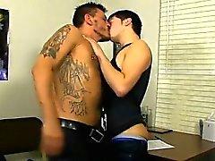 La escena gay calientes jóvenes a Ryker el Madison ha deseado m de de sus maestros