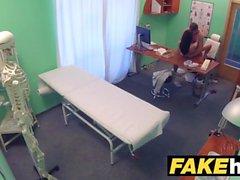 Fake Hospital Doctors paksu dick venyttää kuumaa portugalilainen pillua huulet