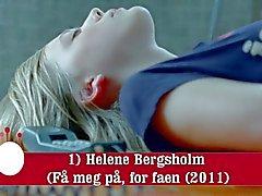 Une ) Helene Bergsholm (Fa de Meg par an , de faen )