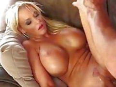 Big Busty Blonde Gets Fucked by a Massive Cock