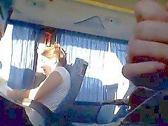 autobus clignotant