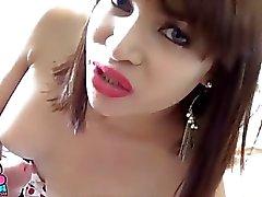 TS Filipina Busty Shemale Gets Hard Fucked