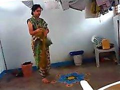 La zia indiano preso condimento