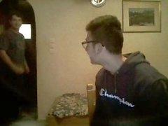 De 2 grecques Bis garçons aient Divertissement Être en Webcam , Nice de longue du sexe