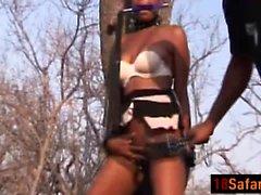 Horny черный афро- для подростков порево сосания BDSM