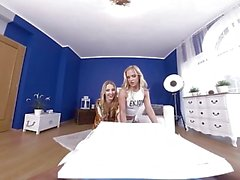 virtualtaboo Anne ve kızı pizza ve aletini almak