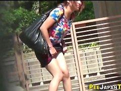 Asian Teen öffentlicher pees