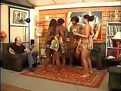 Африканский танцы