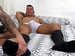 Del Tamil sesso maschile il sesso allegro foto Per gallo di Caleb Gets Un Piede Sorpresa