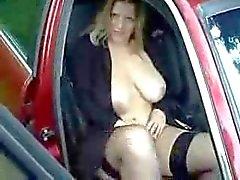 Hot Duitse Big Tits Straat Hoer .