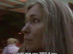Czech streets - milf eva fucks for money