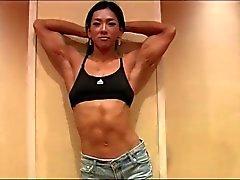 Magnifique le modèle Fitness de Corée