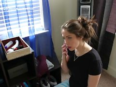 Bad Housekeeper Gets Caught Using Bad Dragon Dildo FULL VIDEO!