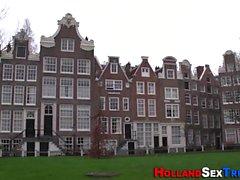 Holandês Whore cum pulverizado