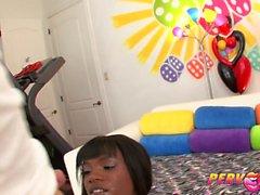 PervCity Ana Foxxx pops her Anal Cherry