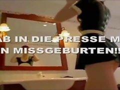 Die Latex Maid Luder # Scheiss Transvestitenschweine rotten wir aus