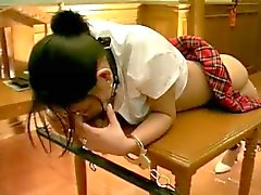 Caned Japanin tyttö