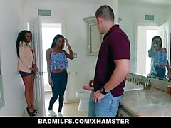 BadMilfs - Ebony Milf scopata figlio in legge