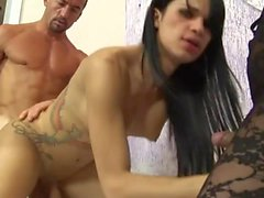Handsome ladyboy suck and copulates like hell