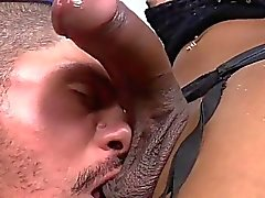 Tgirl Kessy rough anal sex with a hunk
