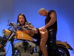 Ein Traum Biker-Slut