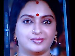 Cum Tribute to Indiase actrice Seetha