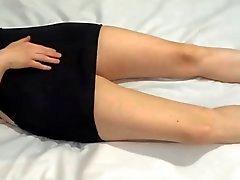 Liquid orgasm in heels 2
