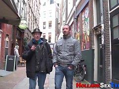 Holländische Hure Sperma gespritzt