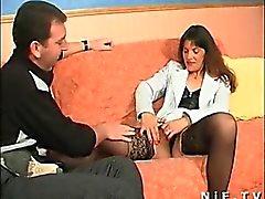 Milly de 1fuckdatecom - Casal amador francês fazendo s anal