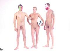 xHamster красотка предсказывает Польша ВС Португалии балл об ЕВРО 2016