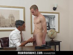 Mormonboyz - Hung jock inspected and fucked