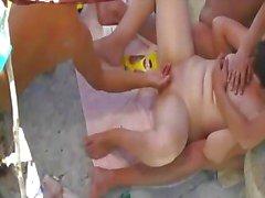 thesandfly nudo a Playa sesso parco giochi!